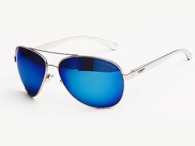 Okulary Polaryzacyjne Aviatory Pilotki Blue 22C20