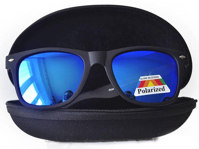 Okulary Polaryzacyjne Przeciwsłoneczne Wayfarer Blue 865C2-5