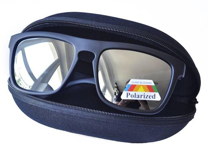 Okulary Polaryzacyjne Przeciwsłoneczne Nerdy Wayfarer Lustrzanki